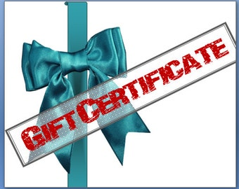 GIFT CERTIFICATE for a Custom Pet Portrait or Any SuzanneJoyFineArt Shop Product