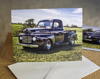 Picture of 1950s Ford PickUp Truck