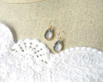 Tanzanite Earrings / Blue Gemstone Earrings / December Birthstone / Gift