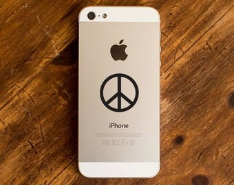 Peace Sign Decal - Peace Symbol Decal - Peace Symbol Sticker - Peace Sign iPhone Decal - Peace Sign CAR Decal