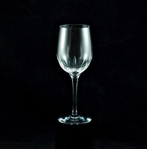Vintage Tiffany Co Starcut White Wine Glass
