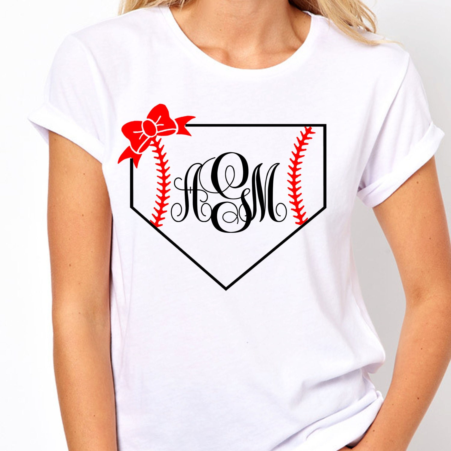 Monogram baseball tee trendy shirts womens by lineliamboutique Designer baseball shirts