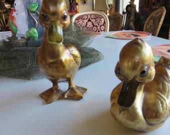 ANTHONY GOLD LEAF Ducks