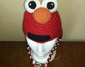 Elmo Hat-Toddler Size