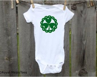 Irish Shamrock Onesies®, Irish Baby, Toddler, kids