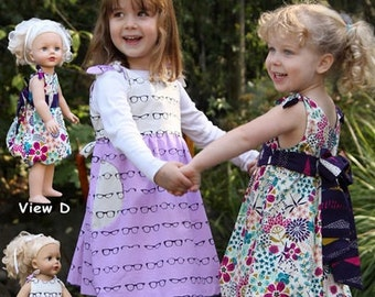 SALE - Charley Dress Pattern - Olive Ann Designs - OAD87