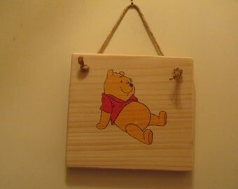Winnie-the-Pooh Character Sign