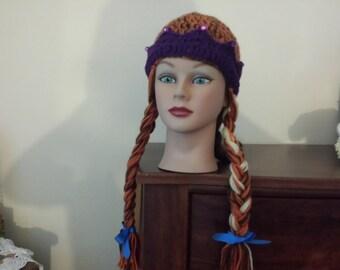 Frozen crochet hat