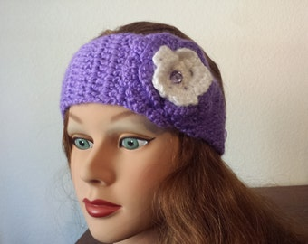 crochet headband for baby's