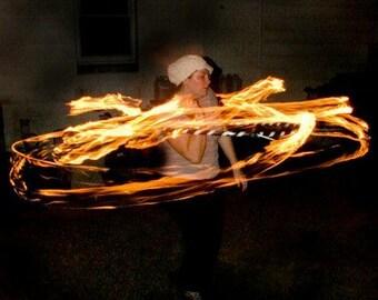 Beginner Fire Hula Hoop