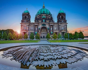 Germany - Berlin - Cathedral at sunset - SKU 0158