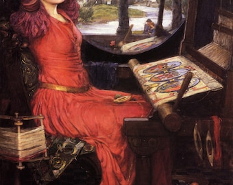 I am Half-Sick of Shadows, said the Lady of Shalott by John William Waterhouse