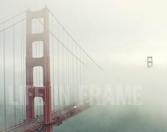Golden Gate Bridge,San Francisco, Urban Photography,Color