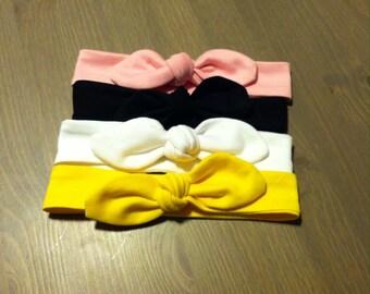 Jersey Knit Headband with Bow