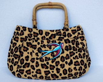 Rockabilly Swallow Buttercup Bag