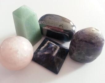 Semi-Precious Gemstones Potluck
