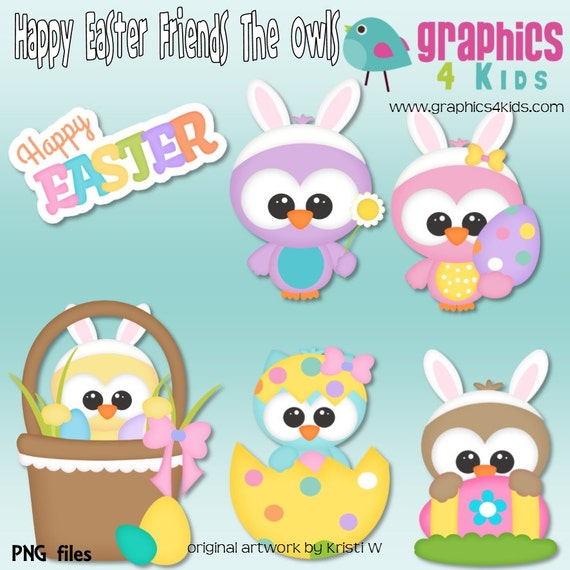 free easter owl clip art - photo #32
