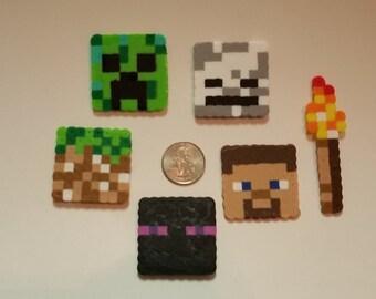 Minecraft Perler Bead Sprites