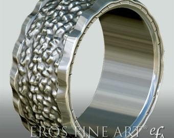 Ring No. 1 - Bandring - Men's Ring - Men's Jewelery - silverring – gift – sterlingsilver