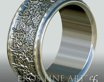 Ring No. 5 - Bandring - Men's Ring - Men's Jewelery - silverring – gift – sterlingsilver