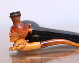 PIPE smoking Meerschaum.