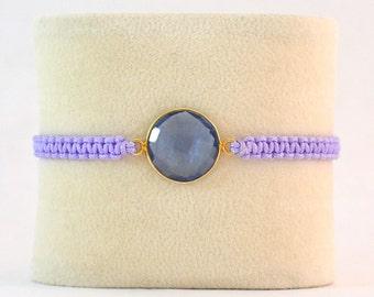 Adjustable Macrame Bracelet