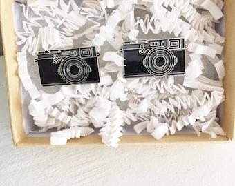 Camera Cuff Links; Photographer Gift; Photographer Cuff Links; Men's Gift; Groomsmen Cufflinks