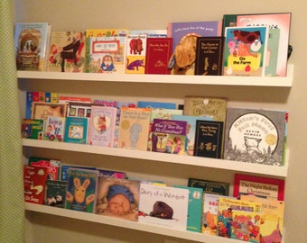 Gallery Book Ledge in Your Color Choice