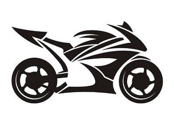 Gsxr Cbr R6 Ninja Tribal Motorcycle Sport Bike Vinyl Decal