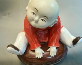 Young Buddha Boy Figurine - Mei Tao