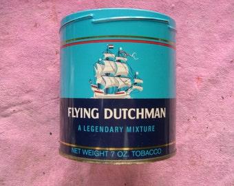 Vintage Flying Dutchman Tobacco Tin