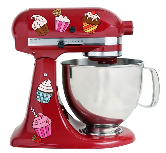 Cupcake kitchenaid decal