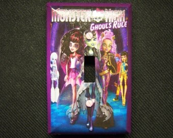 Light Switch Cover Monster High Print