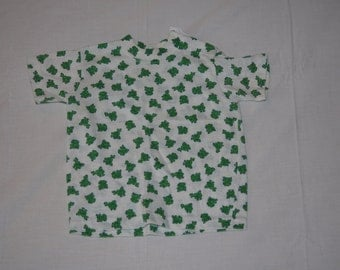Vintage 1980's - Baby shirt with Frogs