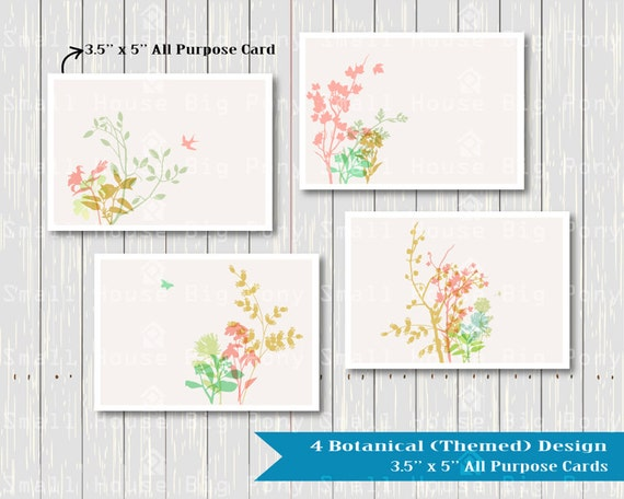 Flower Clipart, Bontanical floral Clip art, Floral Bouquet Clipart, flowers clip art, Floral card Clip Art