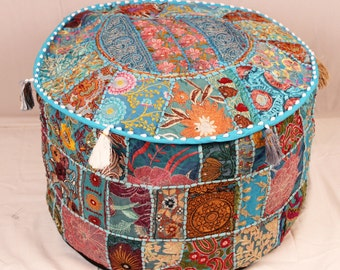 items similar to mud cloth multi colored ottoman on etsy. Black Bedroom Furniture Sets. Home Design Ideas