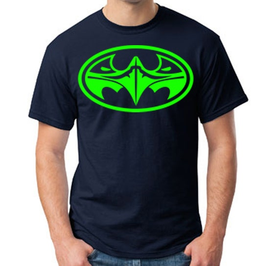 Top selling seattle seahawks in batman style by theseattlebird for Best selling t shirts on etsy