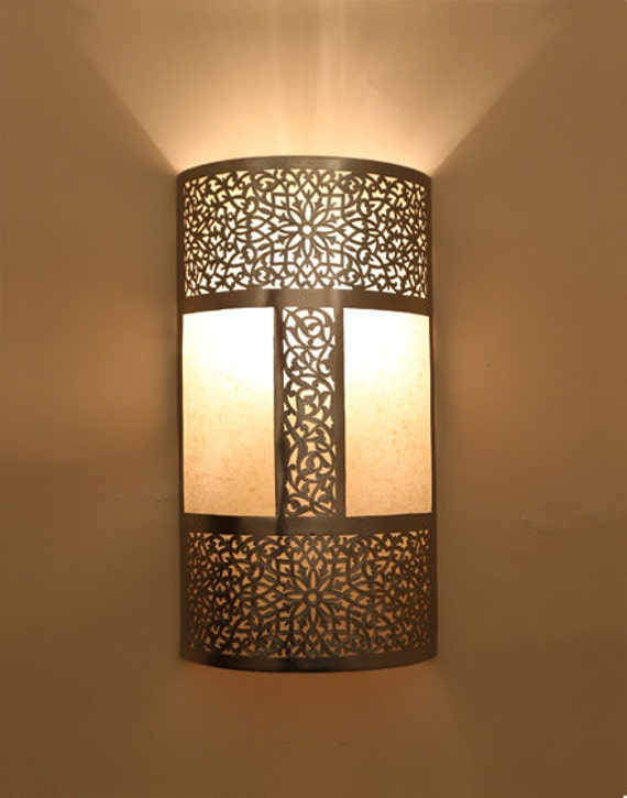 Items similar to Moroccan Lanterns Craftmade Brass Lounge Lamp light- Wall Lamp sconce Gold on Etsy