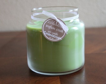 16 oz Apothecary Jar Soy Candle Made to Order