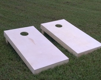 Finished & Non Painted 1x4 Frame Cornhole Boards (SAME Day Shipping)| DIY Corn Hole Boards | Corn Toss | Bag Toss | UnPainted | Plain