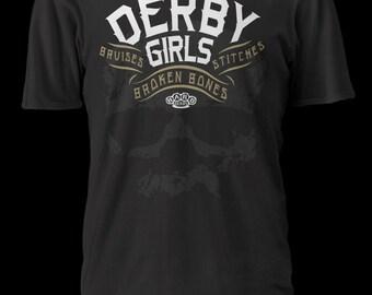 Derby Girls- roller derby shirt