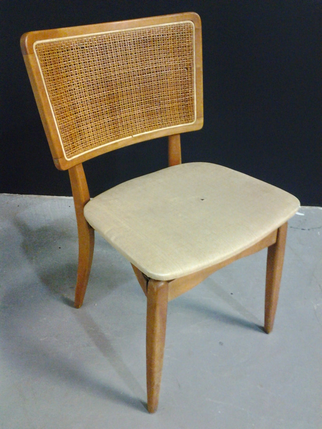 MidCentury Vintage Stakmore Folding Chair with Prouve Style