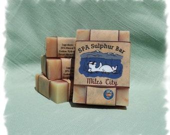 Phoenix Axe _ Miles City _ SPA Sulphur Mineral Soap _ Homemade/Handmade Soap _ Made in Montana
