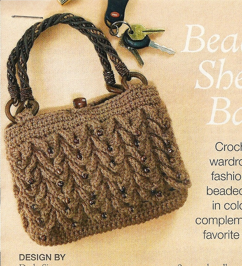 Crochet Ladies Bags : All Bags & Purses