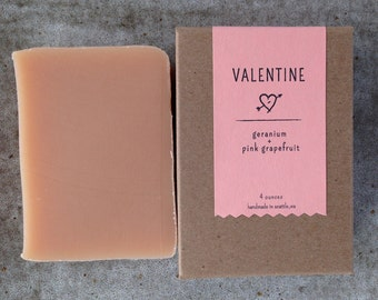 Valentine | Valentine's Day Soap | All Natural Soap | Handmade Soap