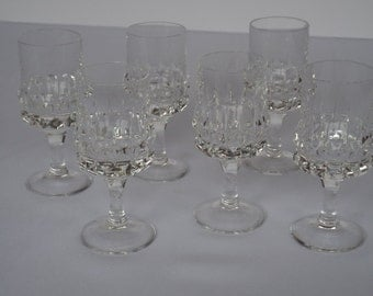 Vintage Rosenthal Studio Line Cordial Glasses Set of 6