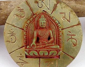PENDANT Tibetan Buddhist jewelry meditation bhp100 Sakyamuni Buddha