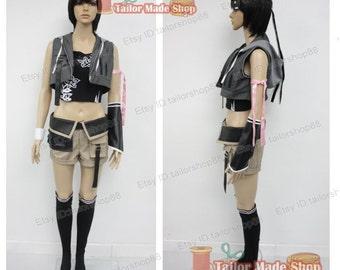 Final Fantasy Yuffie's Advent Children Cosplay Costume