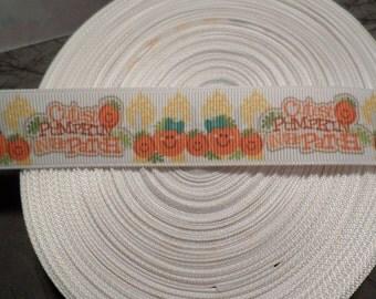 Fall Cutest Pumpkin in the Patch Grosgrain Ribbon