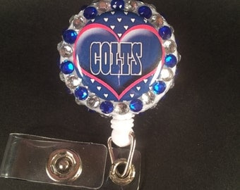 Colts badge reel